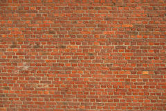 Vintage red brick wall. That can be used as a background royalty free stock photography
