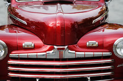 Vintage red car Stock Photo