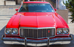 Vintage red car. Royalty Free Stock Photography