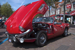 Vintage red car. Stock Image