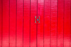 Vintage red door Royalty Free Stock Image