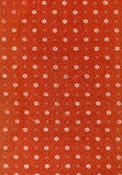 Vintage red fabric Stock Photography