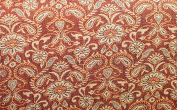 Vintage red fabrics pattern Stock Photo