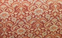 Vintage red fabrics pattern Stock Photo