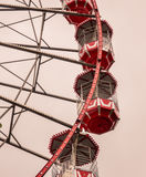 Vintage Red Ferris Wheel Royalty Free Stock Image