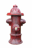Vintage Red Fire Hydrant Royalty Free Stock Image