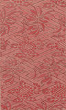 Vintage Red Floral Fabric Royalty Free Stock Photo