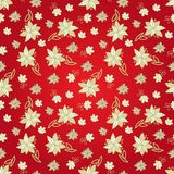 Vintage red floral seamless pattern Royalty Free Stock Image