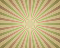 Vintage red and green rays. Background Royalty Free Stock Images