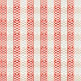 Vintage red lines seamless pattern Royalty Free Stock Images