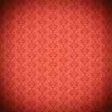 Vintage red ornate pattern Stock Image