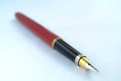 Vintage red pen Royalty Free Stock Images