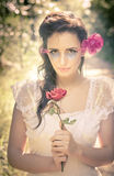 Vintage Red Rose Royalty Free Stock Photography