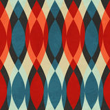 Vintage red seamless pattern Royalty Free Stock Image