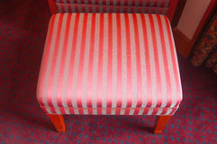 Vintage red sofa Royalty Free Stock Images