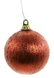 Vintage Red Thread Christmas Ornament Royalty Free Stock Photos