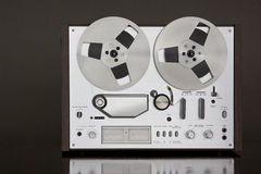 Vintage Reel-to-Reel stereo tape deck recorder Stock Photos
