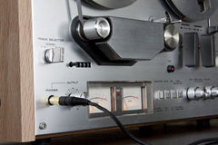 Vintage Reel-to-Reel stereo tape deck recorder Stock Images