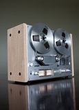 Vintage Reel-to-Reel stereo tape deck recorder Royalty Free Stock Images
