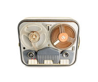 Vintage Reel to reel Tape Recorder. Brand removed Philips MODEL AG8108/02 reel to reel tape recorder from the fifties, a real vintage beauty that will transmit a Royalty Free Stock Photos