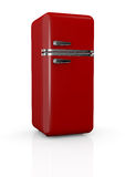 Vintage refrigerator Stock Photo