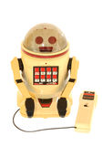 A Vintage Remote Control Toy Robot Royalty Free Stock Photo