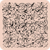 Vintage renaissance wallpaper. Royalty Free Stock Photos