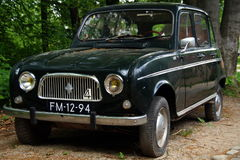 Vintage Renault 4 (R4) hatchback - front view Royalty Free Stock Photo