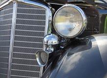 Vintage reo chrome grille Royalty Free Stock Photo