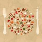 Vintage Restaurant Design Stock Photo