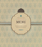 Vintage Restaurant Menu Stock Photo