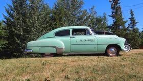 Vintage Restored Chevrolet Sedan Stock Photos