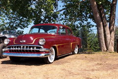 Vintage Restored Chevrolet Sedan Stock Image