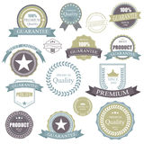 Vintage Retro Badge.Elements Premium Quality Label Frame.Badges and Icons set. Royalty Free Stock Photos