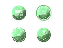 Vintage Retro Badges. Set of vintage retro badges vector illustration