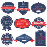 Vintage Retro Bakery Badges And Labels Royalty Free Stock Photo