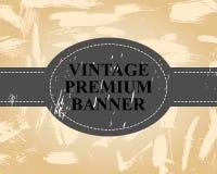 Vintage retro banner Royalty Free Stock Photos