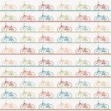 Vintage retro bicycle background Royalty Free Stock Image