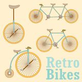 Vintage Retro Bicycle Stock Photos