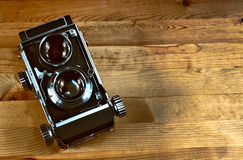Vintage retro camera Royalty Free Stock Photos