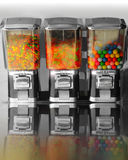 Vintage retro candy machines Stock Photos