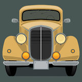 Vintage, retro car Stock Photography