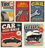 Vintage Retro Car Royalty Free Stock Photos