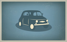Vintage retro car vector Stock Images