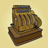 Vintage retro cash machine pop art style vector Royalty Free Stock Image