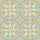 Vintage retro ceramic tile Royalty Free Stock Photos