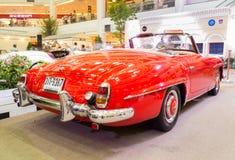 Vintage retro classic car Royalty Free Stock Image