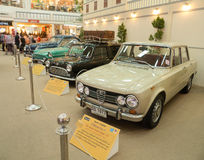 Vintage retro classic car Stock Photo