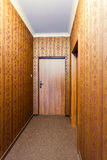 Vintage retro corridor Stock Images