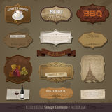 Vintage And Retro Design Elements Stock Image